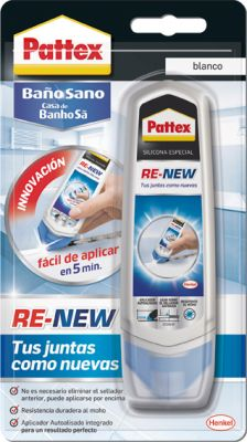 Pattex silicona RE-NEW Blanco 100 Ml