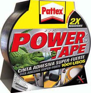Pattex Power tape gris 50mmx25mt