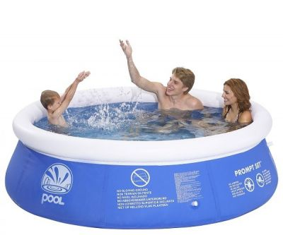 Piscina hinchable pool 240x6.3 cm + depuradora