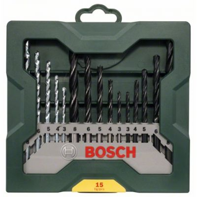 Bosch Set 15 Brocas mixtas Mini-X-Line
