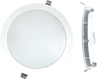 Downlight Led Eco 18W 6000K Silver Sanz
