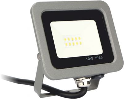 Proyector Led  Forge + 10W 3000K Silver Sanz