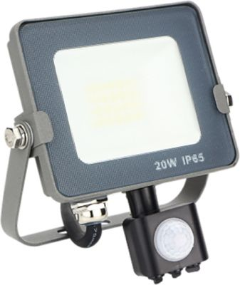 Proyector Led Forge + 20W Con sensor Silver Sanz