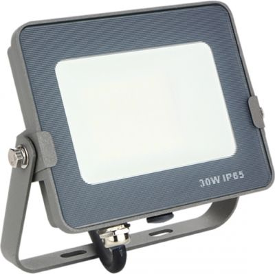 Proyector Led Forge + 30W Silver Sanz 3000K